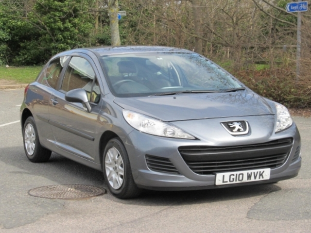 Used Peugeot 207 2010 Gray  Petrol Manual for Sale