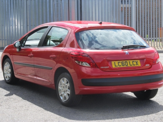 Used Peugeot 207  Red 2010 Petrol for Sale in UK