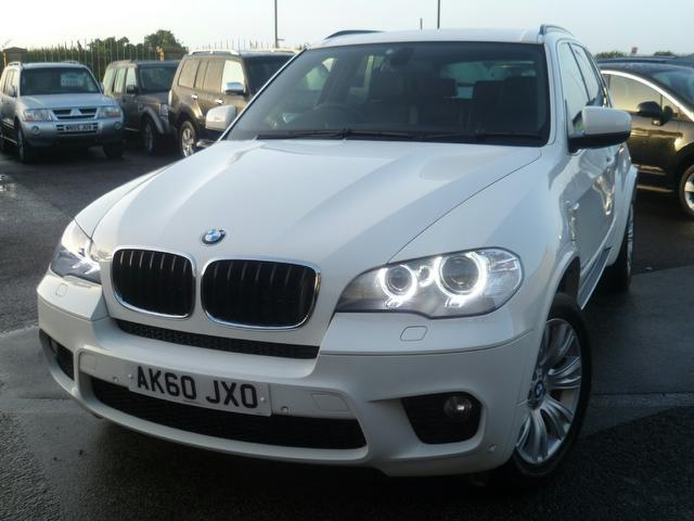 Used Bmw X5 Xdrive30d M Sport 5 Door 4x4 White 2010 Diesel for Sale in UK