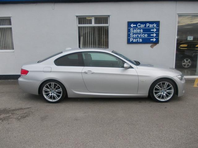 used bmw 3 series 2007 model 320d m sport diesel coupe silver for sale in wirral uk autopazar. Black Bedroom Furniture Sets. Home Design Ideas