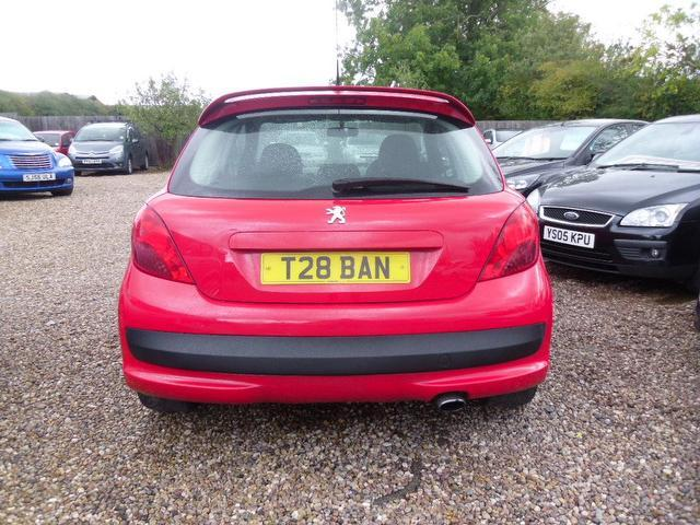 Used Peugeot 207 1.4 Vti Sport [95] Hatchback Red 2008 Petrol for Sale in UK