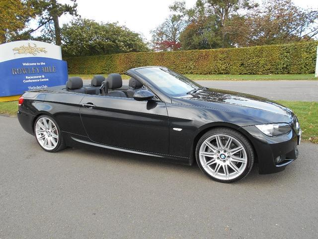 Used Bmw 3 series 2009 Black Convertible Petrol Automatic for Sale