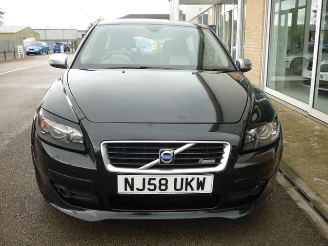 Used Volvo C30 1.6 R Design Sport Coupe Black 2008 Petrol for Sale in UK