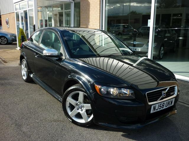 Used Volvo C30 2008 Black Coupe Petrol Manual for Sale