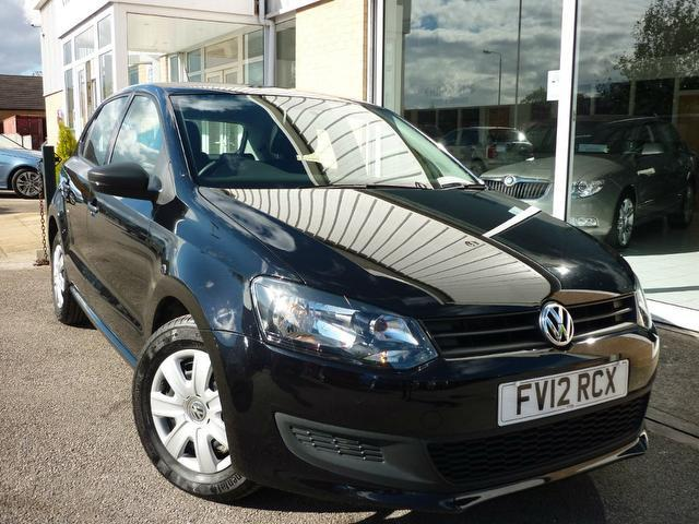 Used Volkswagen Polo 2012 Black Paint Petrol 1.2 60 S 5dr Hatchback ...