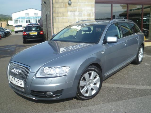used grey audi allroad 2007 diesel 3 0 tdi quattro 5dr estate in great condition for sale. Black Bedroom Furniture Sets. Home Design Ideas