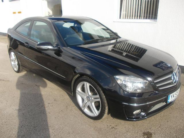 Used Mercedes Benz 2009 Black Coupe Petrol Automatic for Sale
