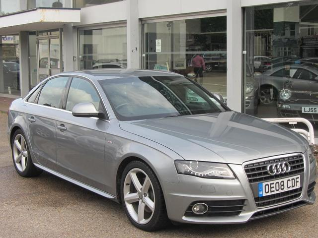 Used Audi A4 2008 Grey Saloon Diesel Automatic for Sale
