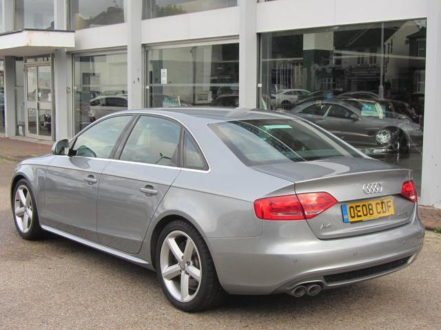 Used Audi A4 2.0 Tdi S Line Saloon Grey 2008 Diesel for Sale in UK