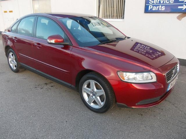 Used Volvo S40 2010 Red Saloon Diesel Manual for Sale