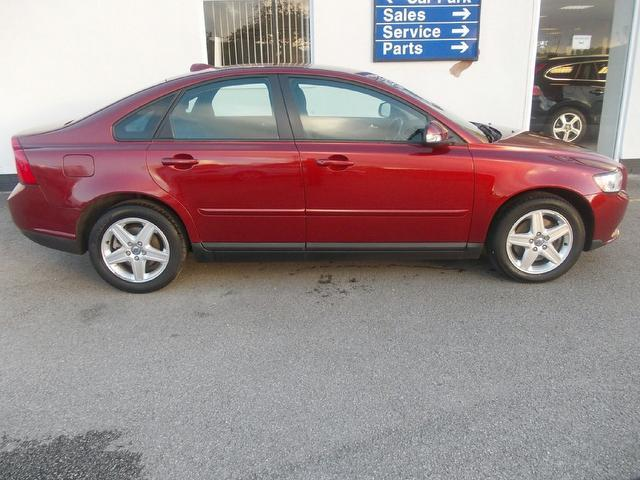 Used Red Volvo S40 2010 Diesel 2 0d S 4dr Full Saloon