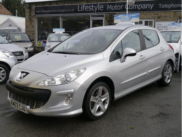 used peugeot 308 2007 model 1 6 hdi 110 sport diesel hatchback silver for sale in wakefield uk. Black Bedroom Furniture Sets. Home Design Ideas