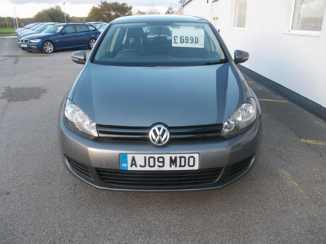 Used Volkswagen Golf 1.6 S 5 Door Full Hatchback Grey 2009 Petrol for Sale in UK