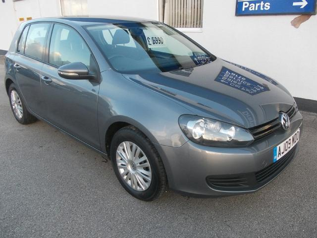 Used Volkswagen Golf 2009 Grey Hatchback Petrol Manual for Sale