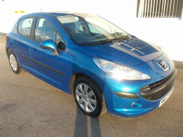 Used Peugeot 207 2008 Blue Hatchback Diesel Manual for Sale