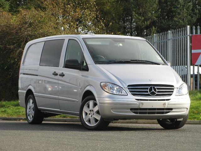Used Mercedes Benz 2009 Silver Panel van Diesel Manual for Sale