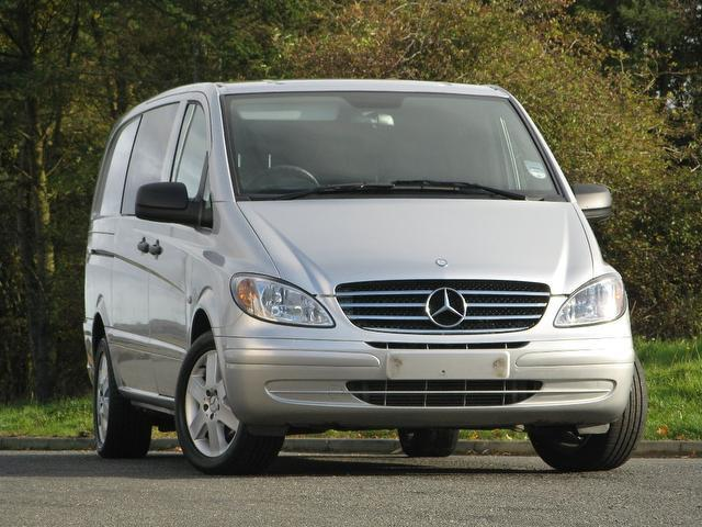 Used Mercedes Benz 2200 Cc Please Select Panel Van Silver 2009 Diesel for Sale in UK