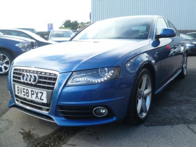 Used Audi A4 2008 Blue Saloon Diesel Manual for Sale