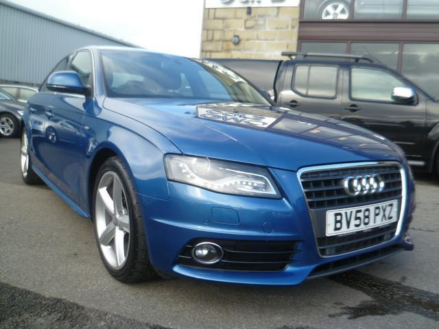 Used Audi A4 2.0 Tdi 143 S Saloon Blue 2008 Diesel for Sale in UK