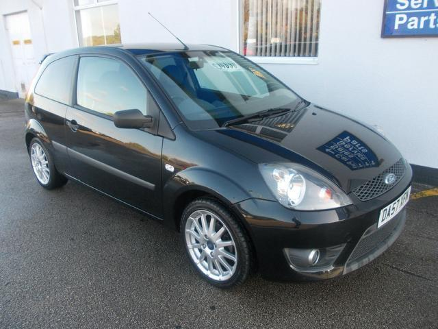 Used Ford Fiesta 2008 Black Hatchback Petrol Manual for Sale