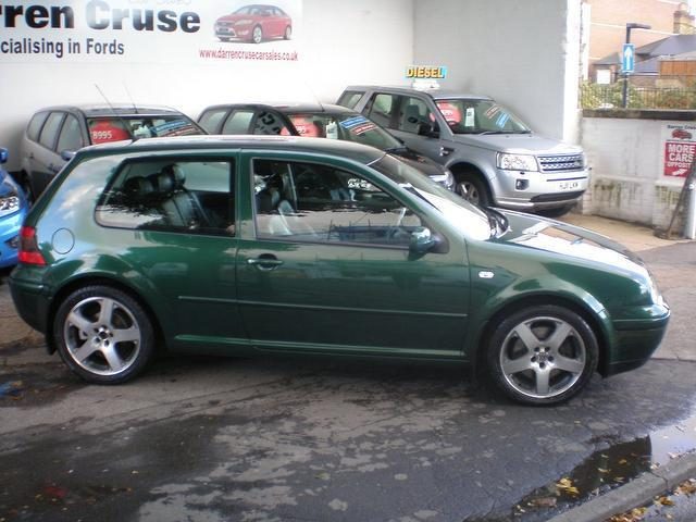 Used Volkswagen Golf 1.8 T Gti [180] Hatchback Green 2003 Petrol for Sale in UK