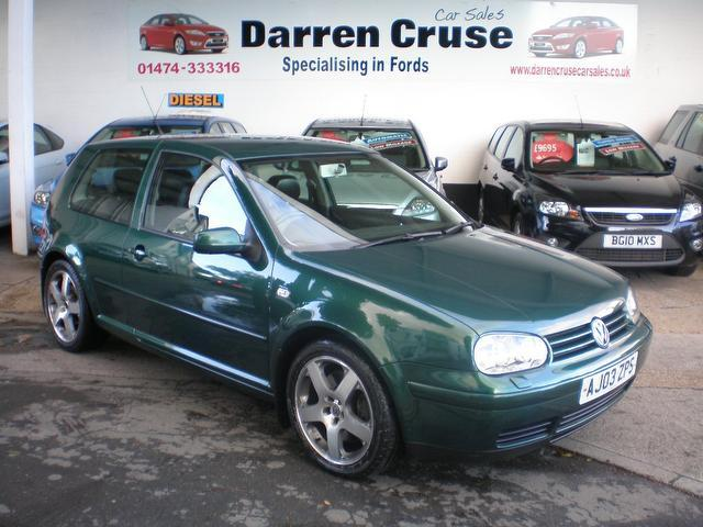 Used Volkswagen Golf 2003 Green Hatchback Petrol Manual for Sale