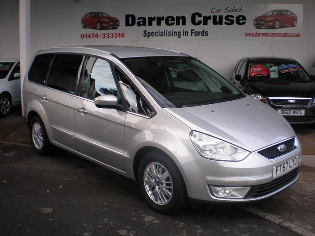 Used Ford Galaxy 2008 Silver Estate Diesel Automatic For Sale