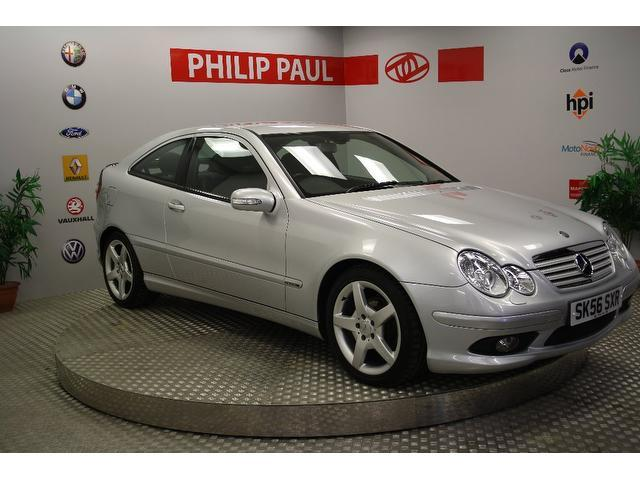 Used Mercedes Benz 2006 Silver Coupe Petrol Automatic for Sale