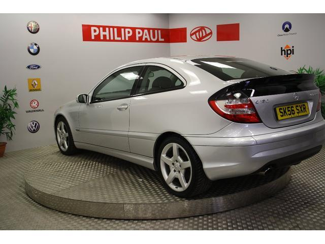 Used 2006 Mercedes Benz Coupe Silver Edition Class C180k