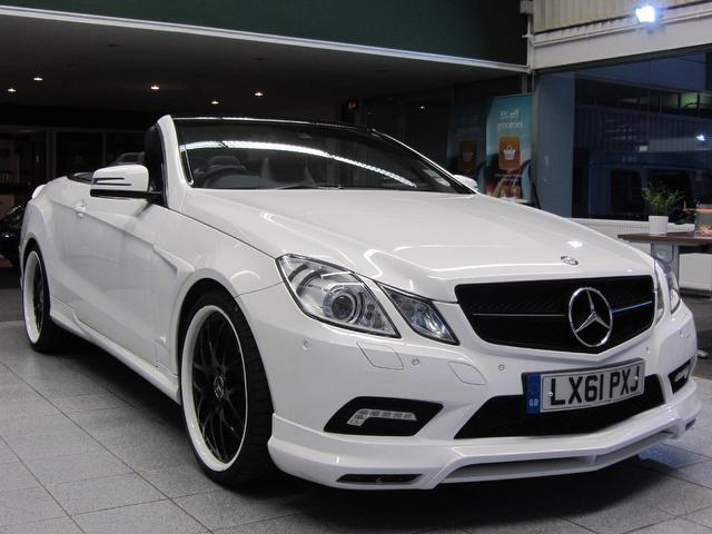 Used Mercedes Benz Convertible For Sale UK