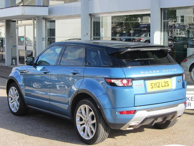 Used Land Rover Range Evoque 2.2 Hatchback Blue 2012 Diesel for Sale in UK