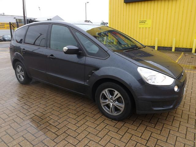 Used Ford S max 2008 Grey Estate Diesel Manual for Sale