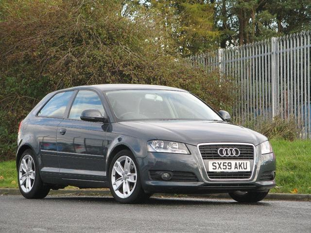 used audi a3 2010 grey colour diesel 1 6 tdi sport 3 door hatchback for sale in turrif uk. Black Bedroom Furniture Sets. Home Design Ideas