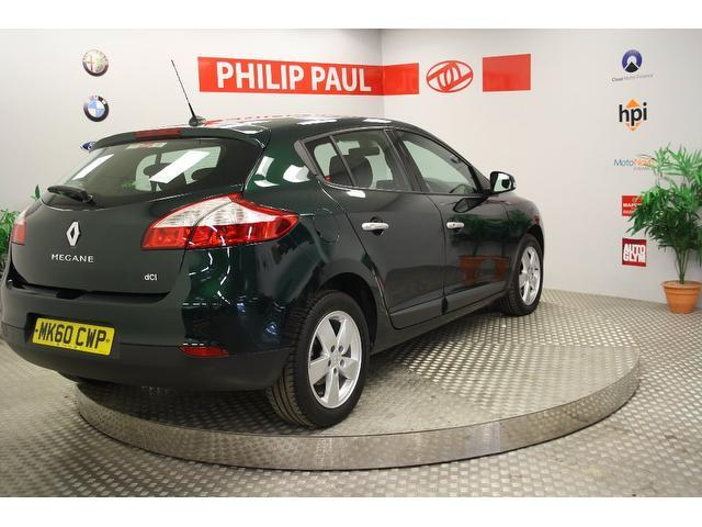 Used Renault Megane 1.5 Dci 106 Dynamique Hatchback Green 2010 Diesel for Sale in UK
