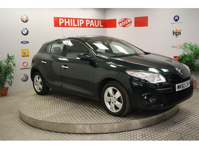 Used Renault Megane 2010 Green Hatchback Diesel Manual for Sale