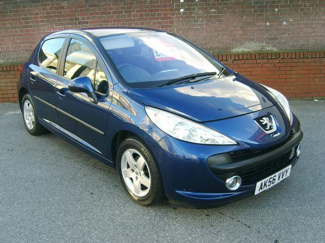 Used Peugeot 207 2006 Blue Hatchback Petrol Manual for Sale