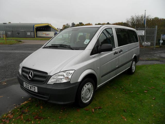 Used mercedes benz car 2012 silver diesel 2100 cc minibus for Used mercedes benz cars for sale