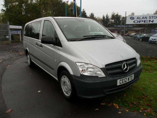 Used Mercedes Benz 2100 Cc  Minibus Silver 2012 Diesel for Sale in UK