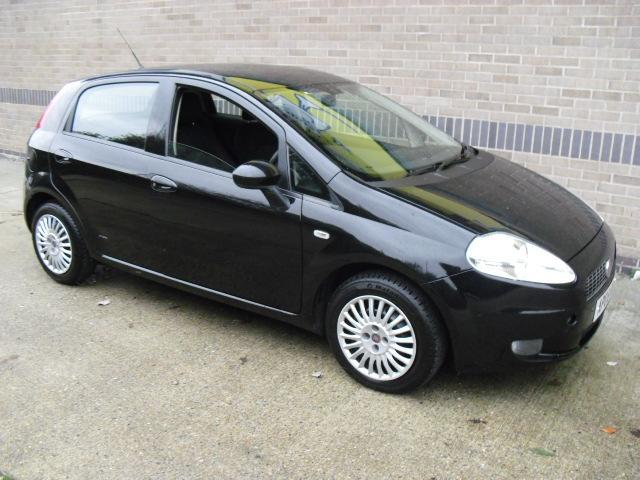 Used Cars For Sale Under 3000 >> Used Black Fiat Grande 2008 Petrol Punto 1.2 Active 5dr Hatchback In Great Condition For Sale ...