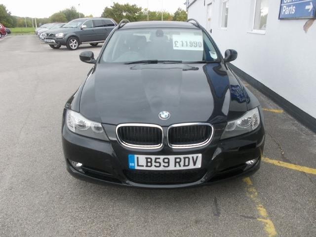 Used Bmw 3 Series 318d Es 5 Door Estate Black 2010 Diesel for Sale in UK