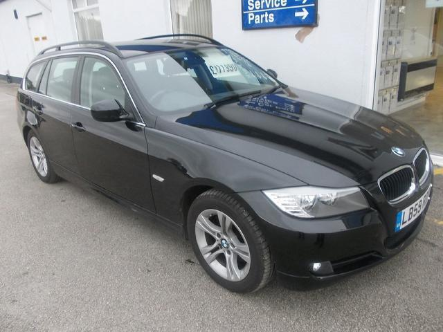 Used Bmw 3 series 2010 Black Estate Diesel Manual for Sale