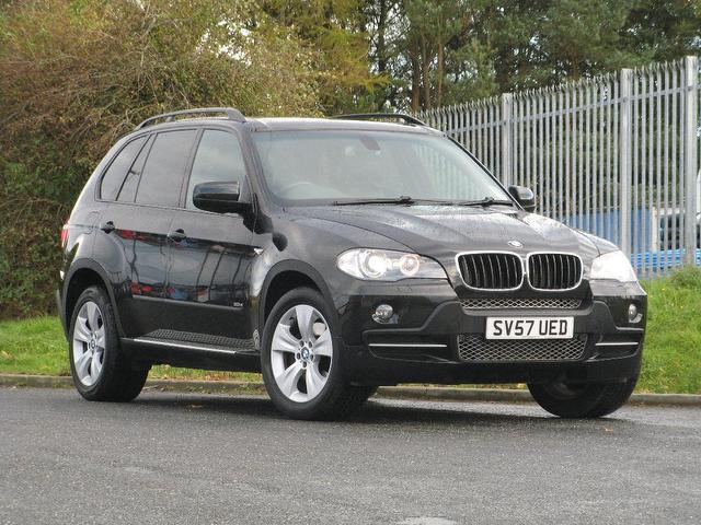 Used Bmw X5 2007 Black 4x4 Diesel Automatic for Sale
