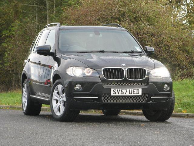 Used Bmw X5 3.0d Se 5 Door Auto 4x4 Black 2007 Diesel for Sale in UK