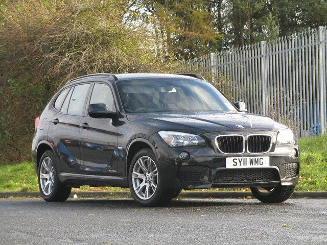 used black bmw x1 2011 diesel xdrive 20d m sport estate excellent condition for sale autopazar. Black Bedroom Furniture Sets. Home Design Ideas