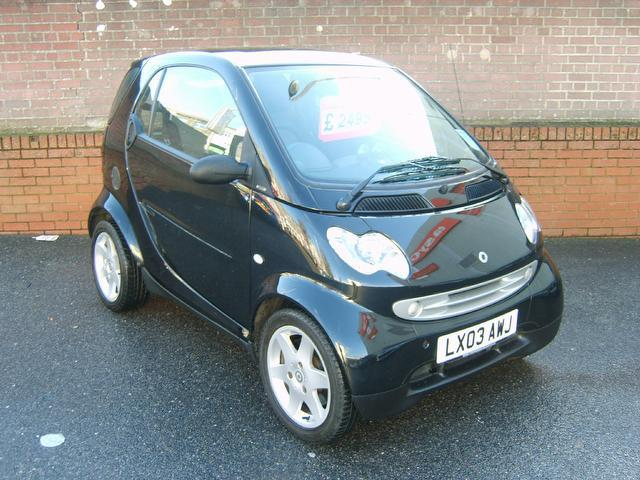 Used Smart City 2003 Black Coupe Petrol Automatic for Sale