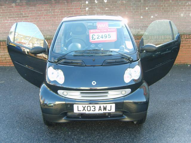 Used Smart City Pulse 2 Door Auto 0.7 Coupe Black 2003 Petrol for Sale in UK