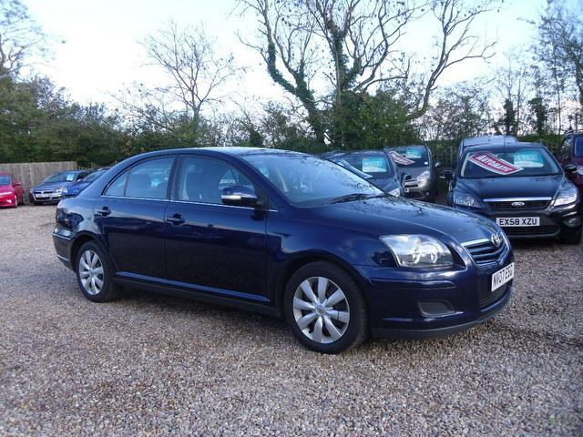 used blue toyota avensis 2007 petrol 1 8 vvt i colour collection rh autopazar co uk toyota avensis 2007 user manual download toyota avensis 2007 manual pdf ru