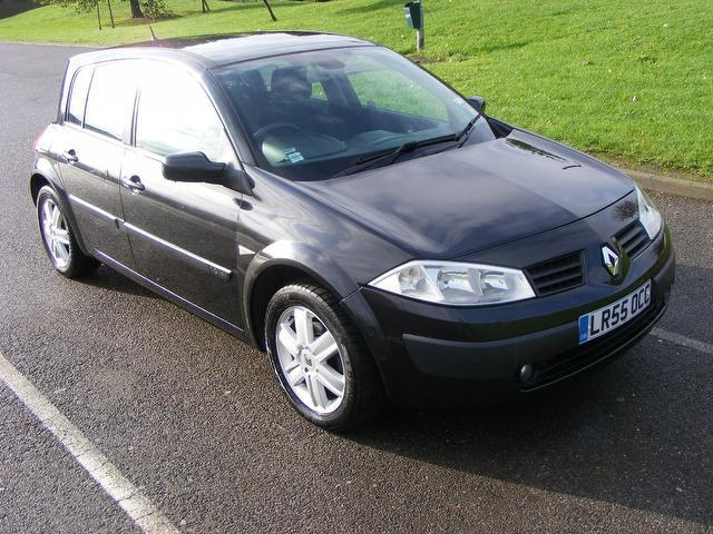 Used Renault Megane 2005 Black Hatchback Petrol Manual for Sale
