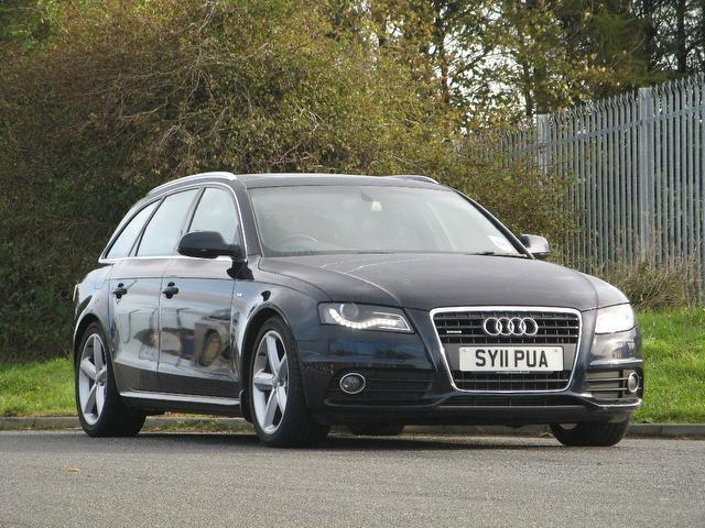 Used Audi A4 2011 Blue Estate Petrol Automatic for Sale