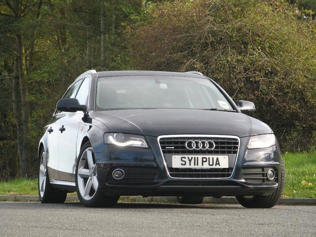 Used Audi A4 2.0t Fsi Quattro S Estate Blue 2011 Petrol for Sale in UK